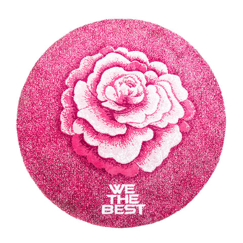 FULL CIRCLE NO THEY AREA RUG - PINK