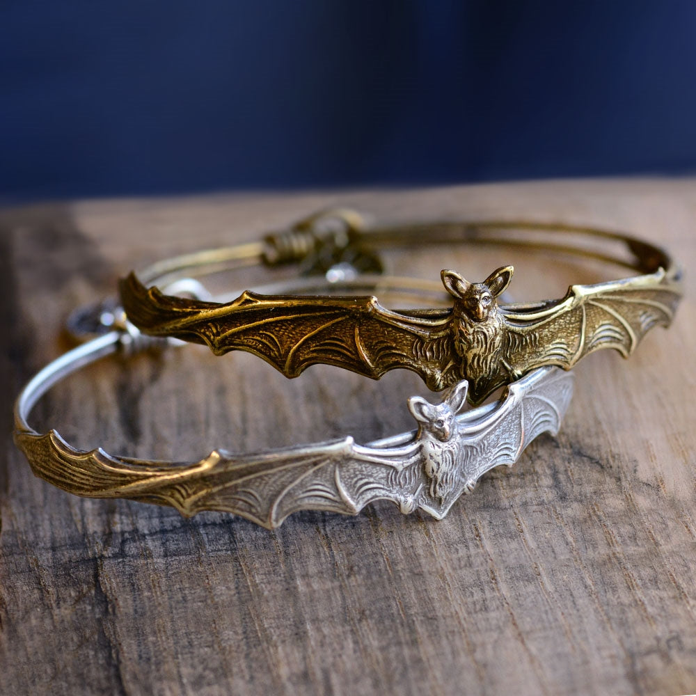 Bat Bangle Bracelet BR477
