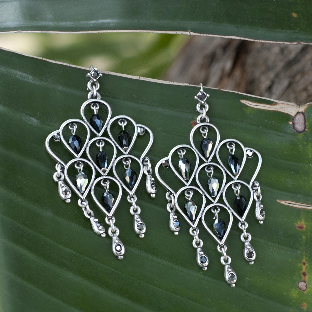 Retro Trellis Earrings E1221
