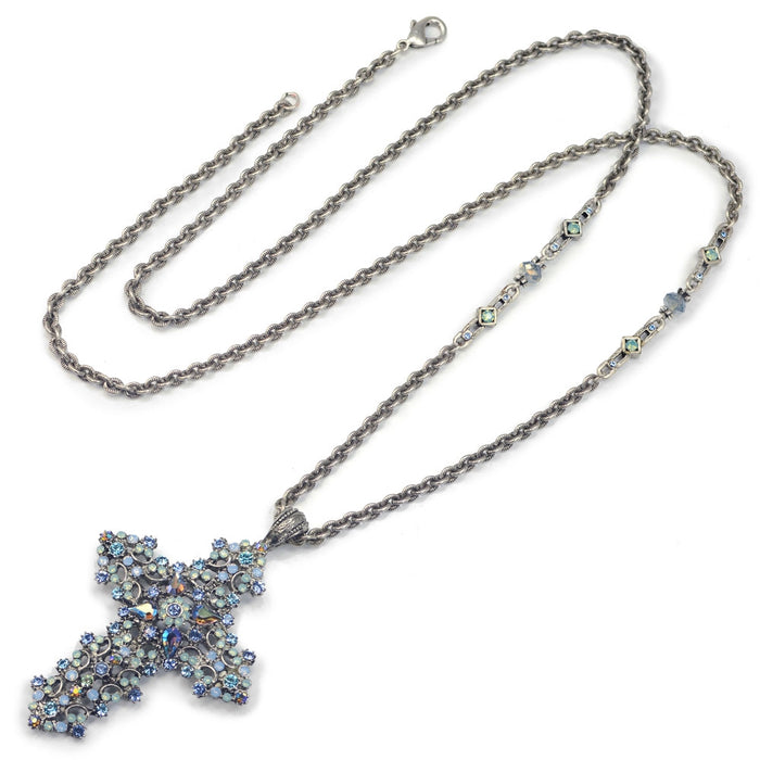 Starlight Cross Necklace N1465-ST