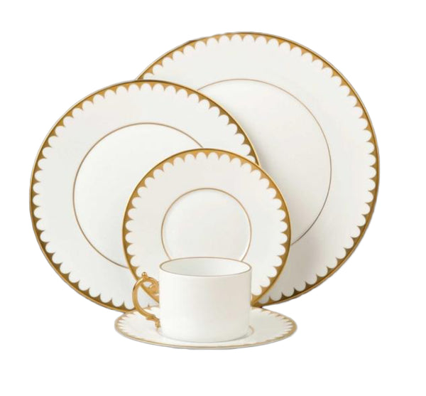 Aegean Dinner Collection in Filet Gold