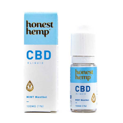 Mint Menthol CBD E-Liquid by Honest Hemp