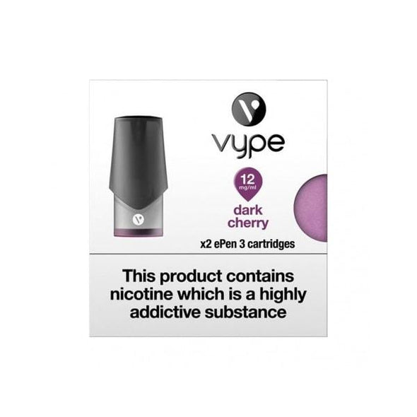 Vype ePen 3 Dark Cherry Pods - 2Pk