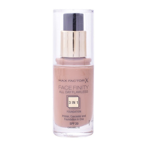 Flydende makeup foundation Face Finity 3 In 1 Max Factor