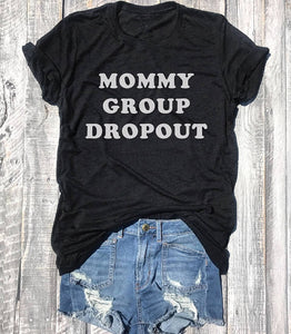Mommy Group Dropout T-shirt