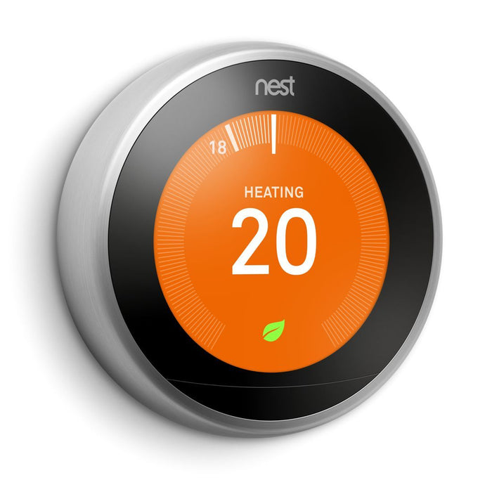 Nest Learning Thermostat - 3rd generation Migration_Thermostats Nest Stainless Steel