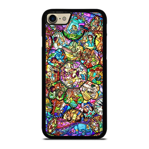 ALL DISNEY CHARACTER GLASS-iphone-7-case-cover