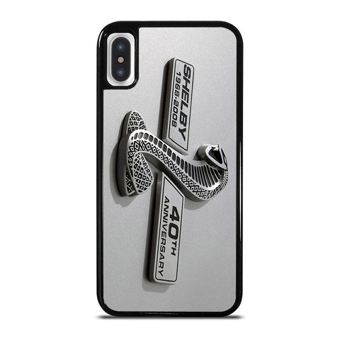 FORD SHELBY COBRA CAR LOGO-iphone-x-case-cover