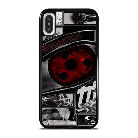 NARUTO SHARINGAN EYE-iphone-x-case-cover