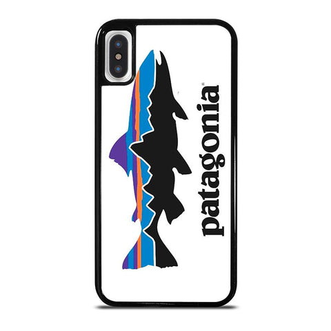 PATAGONIA FISHING BUILT LOGO-iphone-x-case-cover