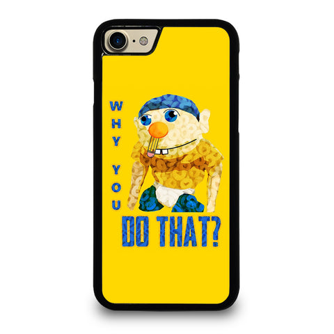 WHY YOU DO THAT SML JEFFY-iphone-7-case-cover