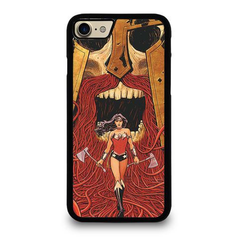 WONDER WOMAN CARTOON-iphone-7-case-cover