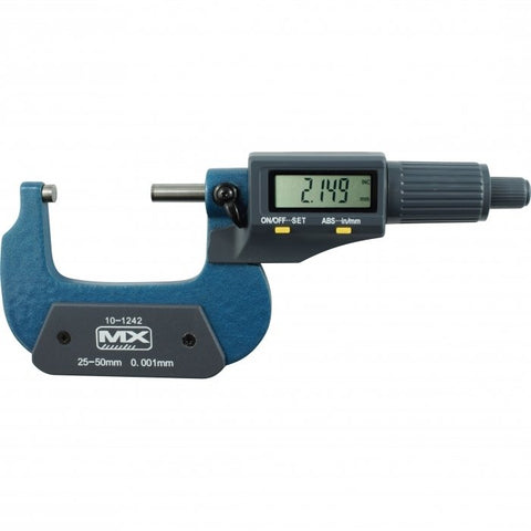 10-1242 - Digital Outside Micrometer 25-50mm / 1-2""