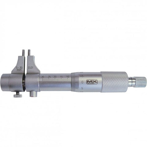25-134 - Internal Micrometers - Caliper Jaw Type 5-30mm