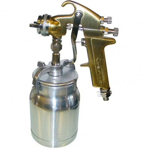 W7002-S - Suction Spray Gun & Pot 1.8mm Fluid Tip