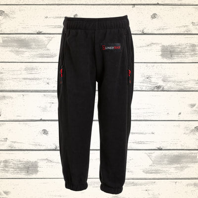 Kids Rookie Fleece Pants - Black