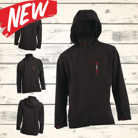 Meraki Soft-Shell Jacket - Black - NEW!