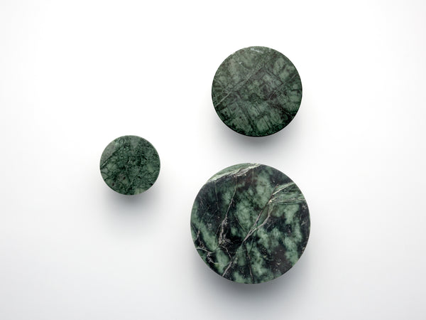 Set of marble hooks green | main | houseof.com