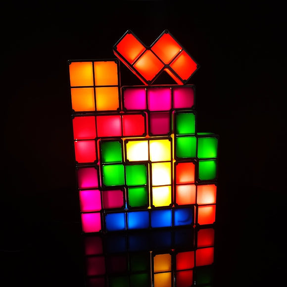 Tetris Stackable LED Light