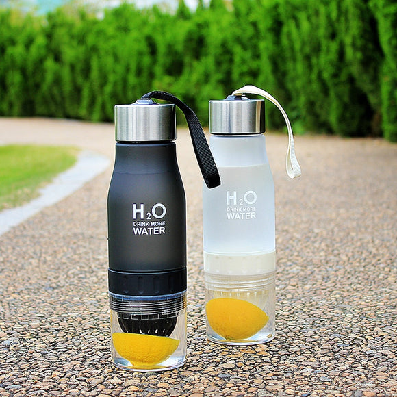 650ml Infuser Water Plastic Bottle