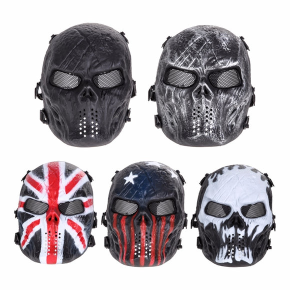 Paintball Party Skull Full Face Mask