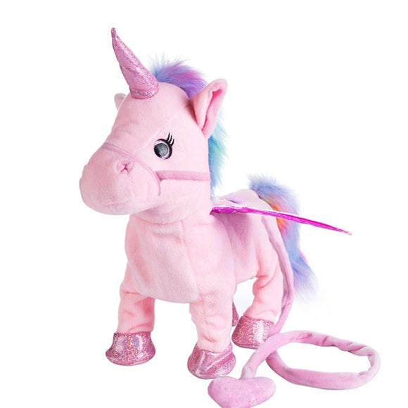 Magic Electric Walking Unicorn Plush Toy
