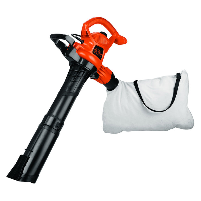Black and Decker BV3600 12-Amp Two Speed Handheld Electric Mulcher Blower Vac