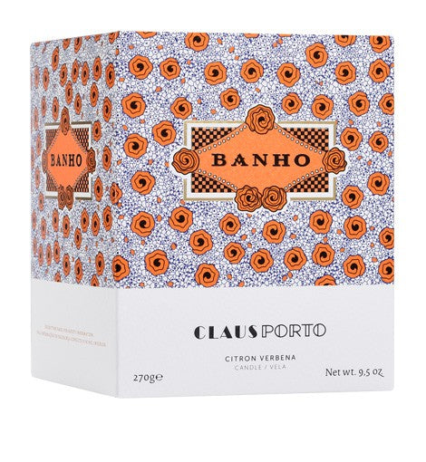 BANHO GLASS CANDLE - just-brazil