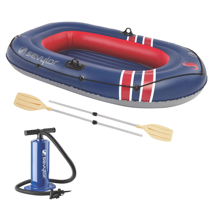 Coleman 2000020563 6-Foot x 3-Foot 2-Person Caravelle 200 Inflatable Boat Combo