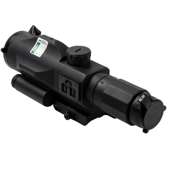 NcStar VSRTP3940GV3 3-9x40mm P4-Sniper Reticle GEN III Rubber SRT Compact Scope
