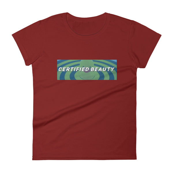 Certified Beauty Duck - Womens Tee