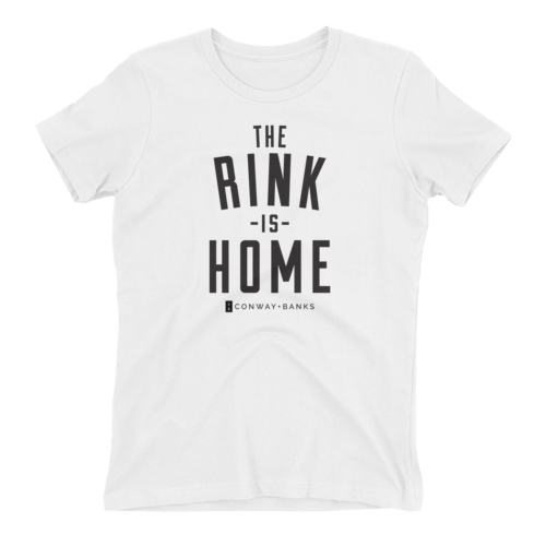 The Rink Is Home Tee Womens