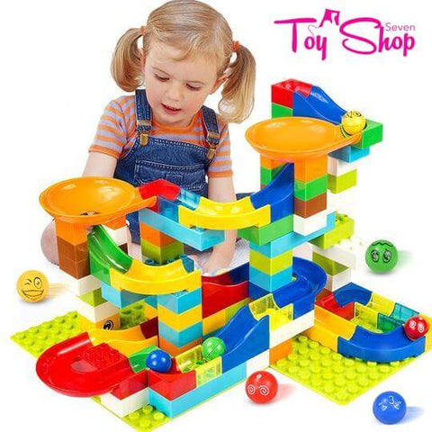 Marble Maze Race Ball Track Building Blocks