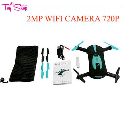 Mini Foldable WiFi RC Drone with 2MP HD Camera