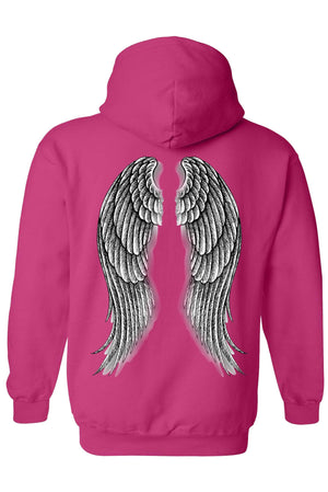Women's/Unisex Pullover Hoodie Beautiful Angel Wings
