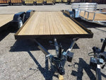 16' Car Hauler Trailer Econo Treated Wood rated at 7000#