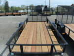 5' X 12' Steel angle Iron Utility Trailer