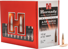Hornady 6mm 110gr A-Tip Match #24531 - BLUE COLLAR RELOADING