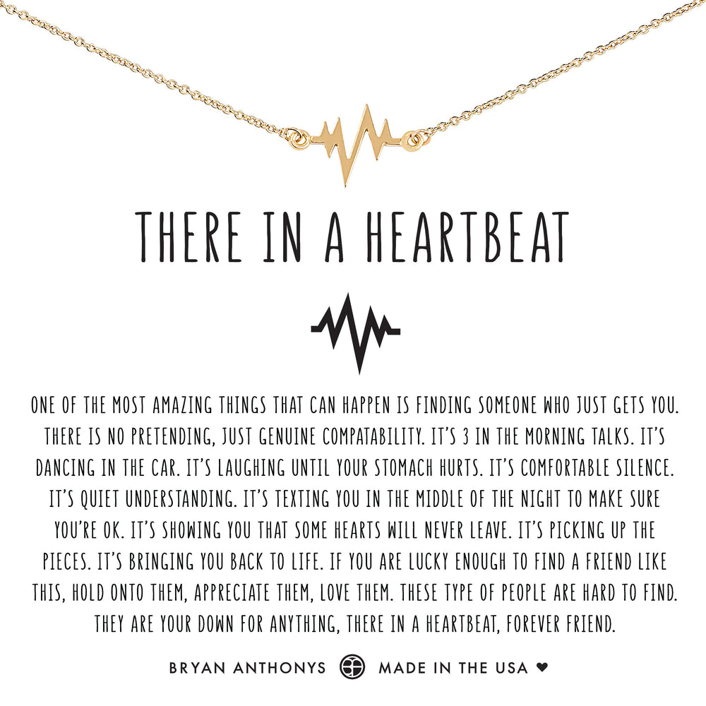 There In A Heartbeat Necklace
