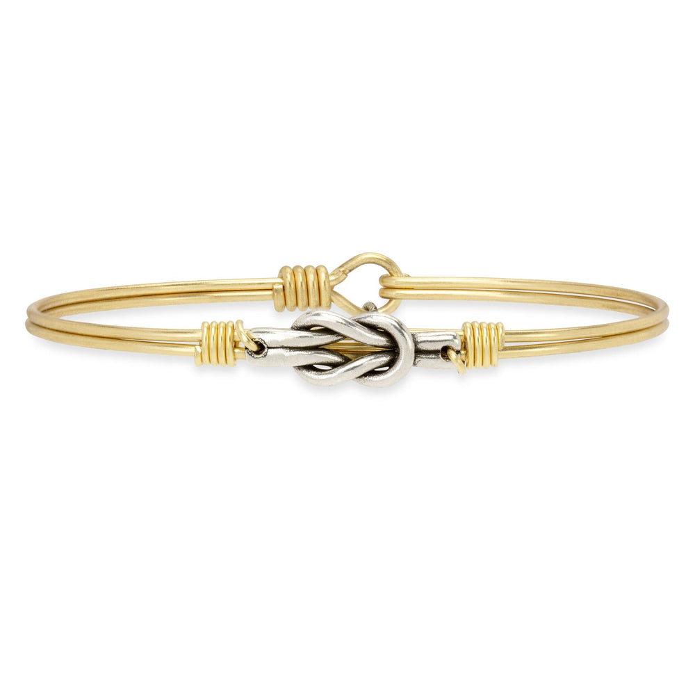 Love Knot Bangle Bracelet