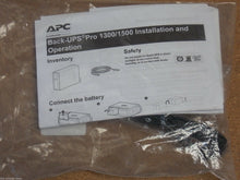 Load image into Gallery viewer, APC Power-Chute Personal Edition ver 3.02 for Back-UPS Pro 1300 / 1500 New in package