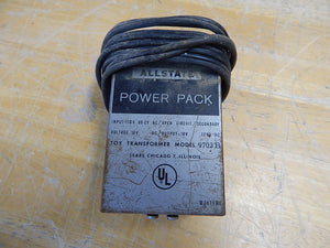 ALLSTATE - Power Pack - Model 9703B - Toy Transformer
