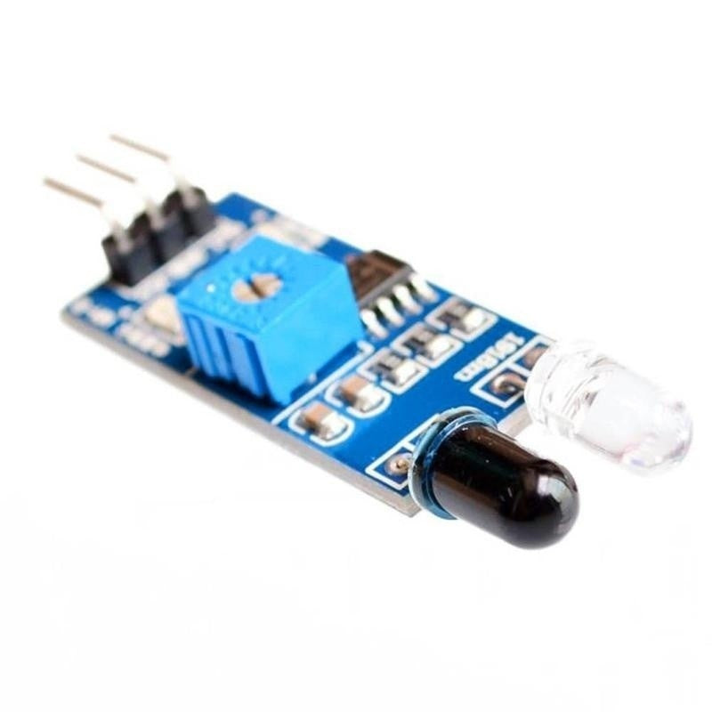 Infrared Barrier Module  Sensor Black And White Line Recognition Distance Adjustable
