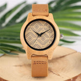 Unique Wooden watches Boho chic Style