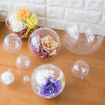 10 Transparent Balls Christmas Tree Decorations [The Best Affordable Online Ethnic Shop] - Unusual Trendy