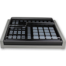 Load image into Gallery viewer, grey fonik stand for ni maschine mk2 shown with decksaver cover