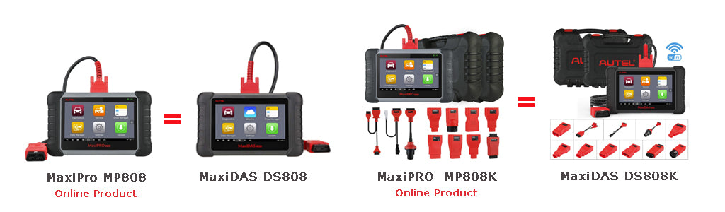 mp808 vs ds808 vs mp808k vs ds808k
