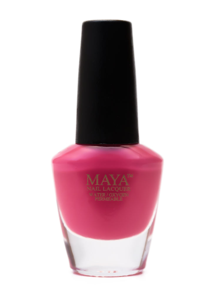 MAYA WUDU FRIENDLY NAIL POLISH - PEPTO PINK