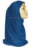 AL AMIRA HIJAB 1 PC. ROYAL BLUE