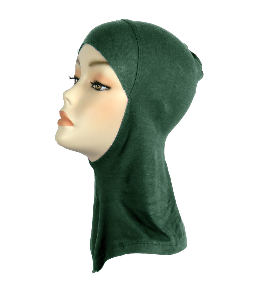 FULL NINJA INNER UNDERSCARF - Bottle Green